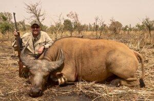 Buffalo hunting near Burkina Faso