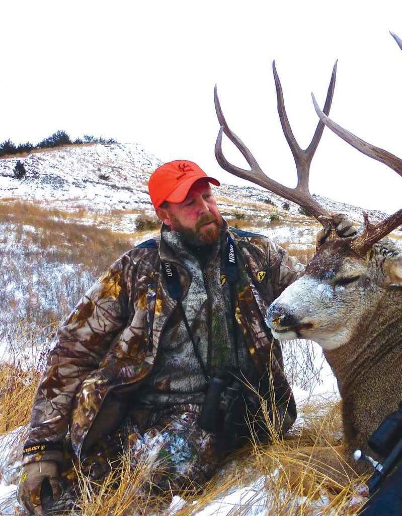 Tim Herald with Trophy Mule Deer