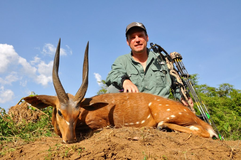 Kendall and new archery world record Nile bushbuck